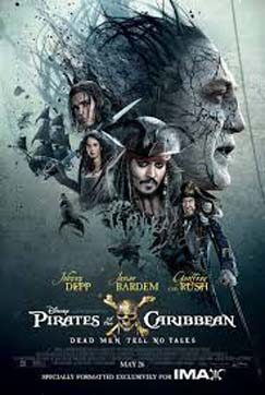 Pirates of the Caribbean – Dead Men Tell No Tales – Qld
